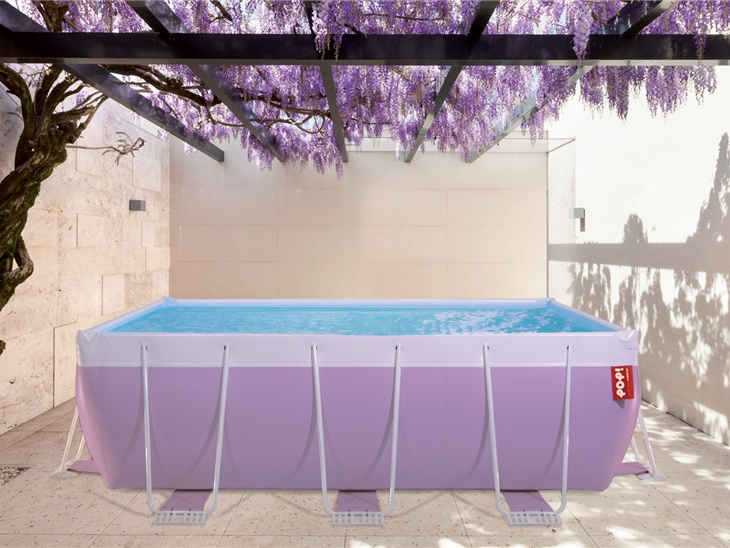 PISCINA POP COLOR LILLA FARFALLA